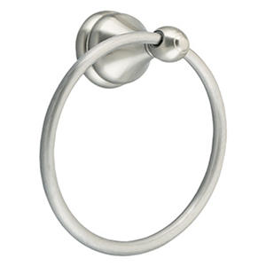 Design House Towel Ring Allante Collection Satin Nickel