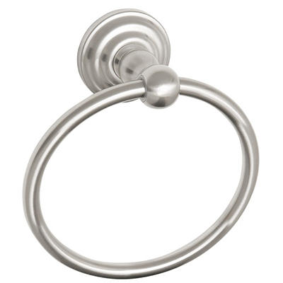 Calisto by Design House Satin Nickel Towel Ring