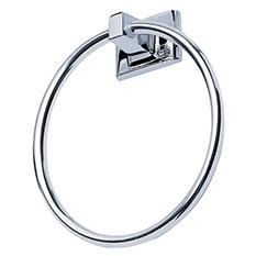 Hardware House Sunset Chrome Towel Ring
