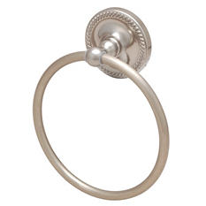 Hardware House Naples Satin Nickel Towel Ring