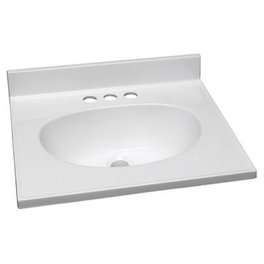 design house single bowl marble vanity top sam s club