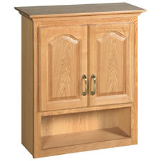 Design House Richland Nutmeg Oak Bathroom Wall Cabinet