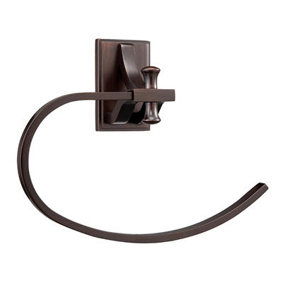 Ironwood by Design House Brushed Bronze Towel Ring