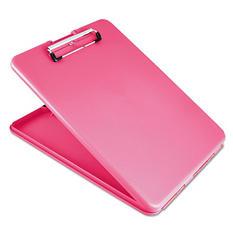 """Saunders 1"""" SlimMate Portable Desktop, Pink"""