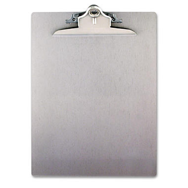 Saunders - Aluminum Clipboard with High-Capacity Clip, 1