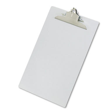 Saunders Aluminum Clipboard with High-Capacity Clip - 1
