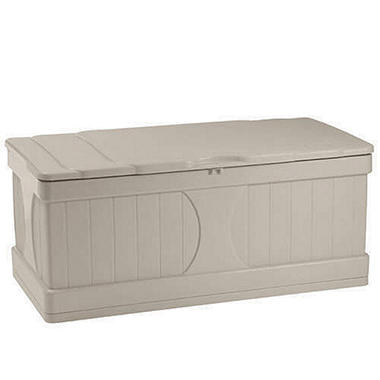 Suncast� Outdoor Deck Storage Box - 99 gal.