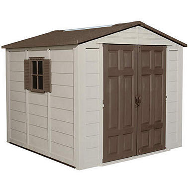 Suncast� Storage Building - 7.5' � 7.5'