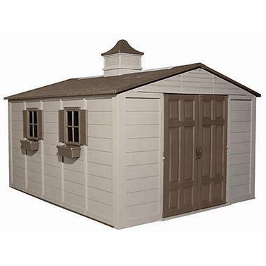 Suncast® Storage Building - 10' × 12.5'