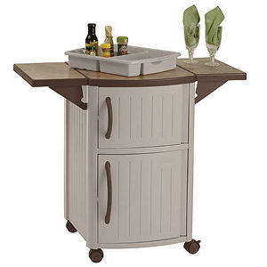 Suncast Serving Station Patio Cabinet