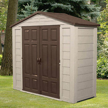 7.5' x 3'  Suncast® Storage Building