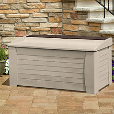 Suncast Deck Box with Seat and Storage Compartment - 127 gal.