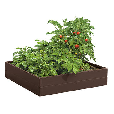 Suncast 8-Panel Raised Garden Kit