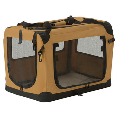 Suncast Fold Away Pet Carrier - Medium