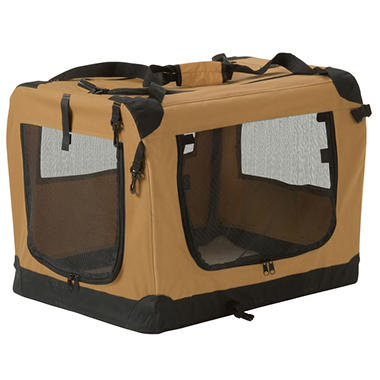 Suncast Fold Away Pet Carrier - Large