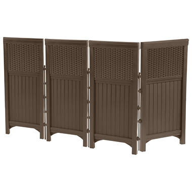 Suncast Wicker Outdoor Screen