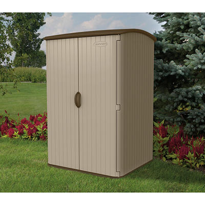 Plastic storage sheds resin storage sheds sam 39 s club for Resin garden shed