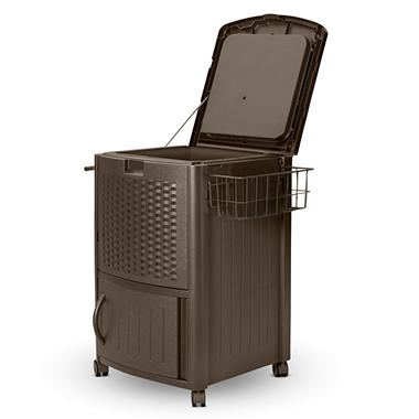 Resin Wicker Patio Cooler