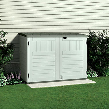 suncast trash can shed 70 cu ft by suncast item 249680 model bms4700