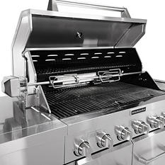36'' KitchenAid Outdoor Gas Grill with Rotisserie Kit