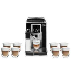 De'Longhi Magnifica Smart Espresso & Cappuccino Maker Gift Bundle
