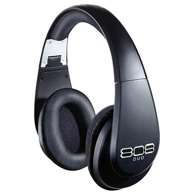808 DUO Wireless and Wired Bluetooth Headphones
