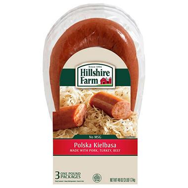 Hillshire Farm Polska Kielbasa Sausage - 1 lb. - 3 pks.