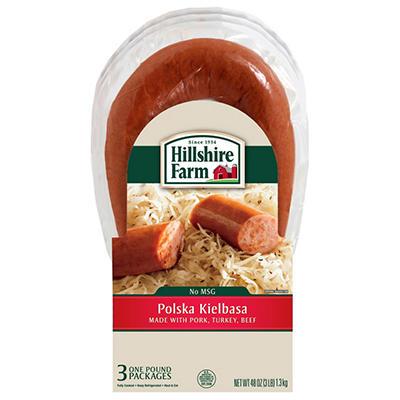 Hillshire Farm Polska Kielbasa Sausage (1 lb., 3 pks.)