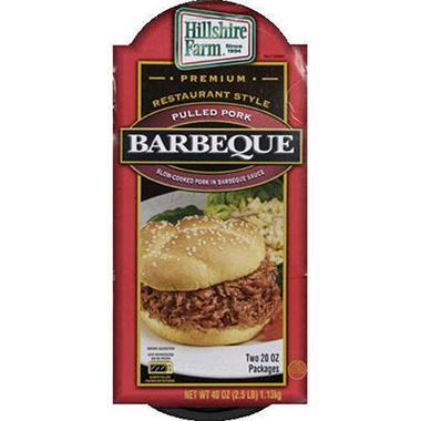 Hillshire Farm® Barbecue Pulled Pork - 2/20oz - Sam's Club