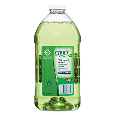 Green Works - All-Purpose Cleaner, Original -  64oz Refill