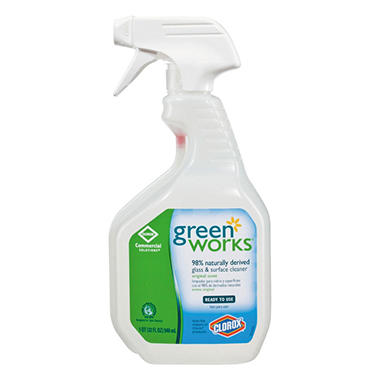 Clorox Green Works Glass/Surface Cleaner - 32 oz.