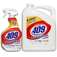 Formula 409 All Purpose Cleaner, Original Scent, 32 Oz. Spray Bottle and 180 Oz. Refill