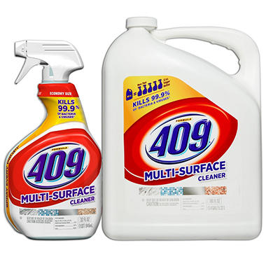 Formula 409 All Purpose Cleaner Value Pack (32 Ounce Spray Bottle + 180 Ounce Refill)