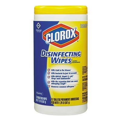 Clorox Disinfecting Wipes - Lemon Scent - 6 pk. - 75 ct. each