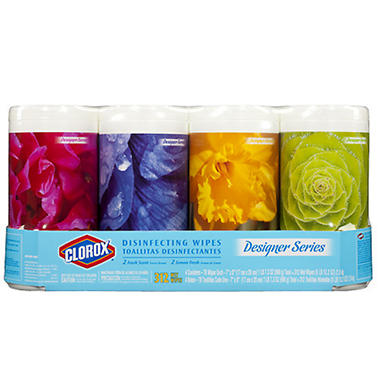 Clorox® Designer Series Disinfecting Wipes - 78 ct. - 4 pk.