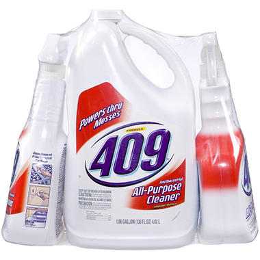 Formula 409 All Purpose Cleaner - 136 oz. Jug + 32 oz. Spray Bottles - 2 ct.