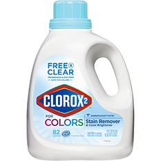 Clorox 2 Laundry Stain Remover and Color Booster, Free and Clear, 112.75 oz. Bottle