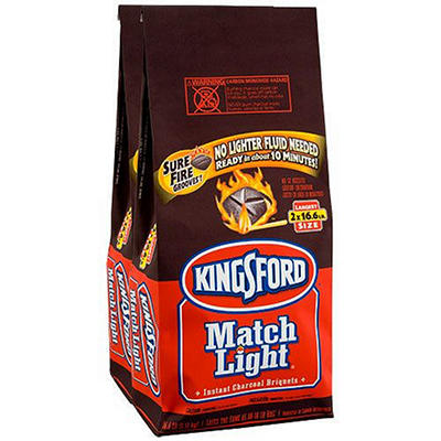 Kingsford Match Light Briquettes 2 x 16.6 lbs.