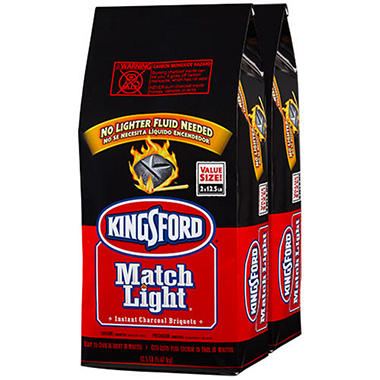 Kingsford Match Light Briquets - 12.5 lb. - 2 ct.