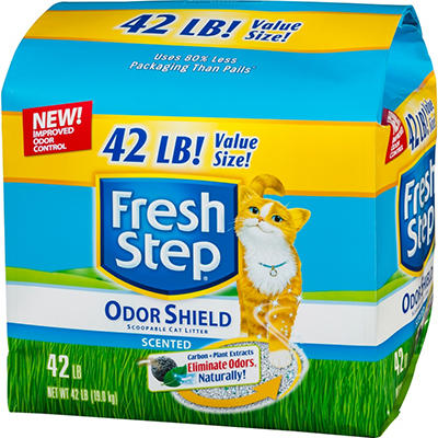 Fresh Step Scoopable Cat Litter - 42 lbs.