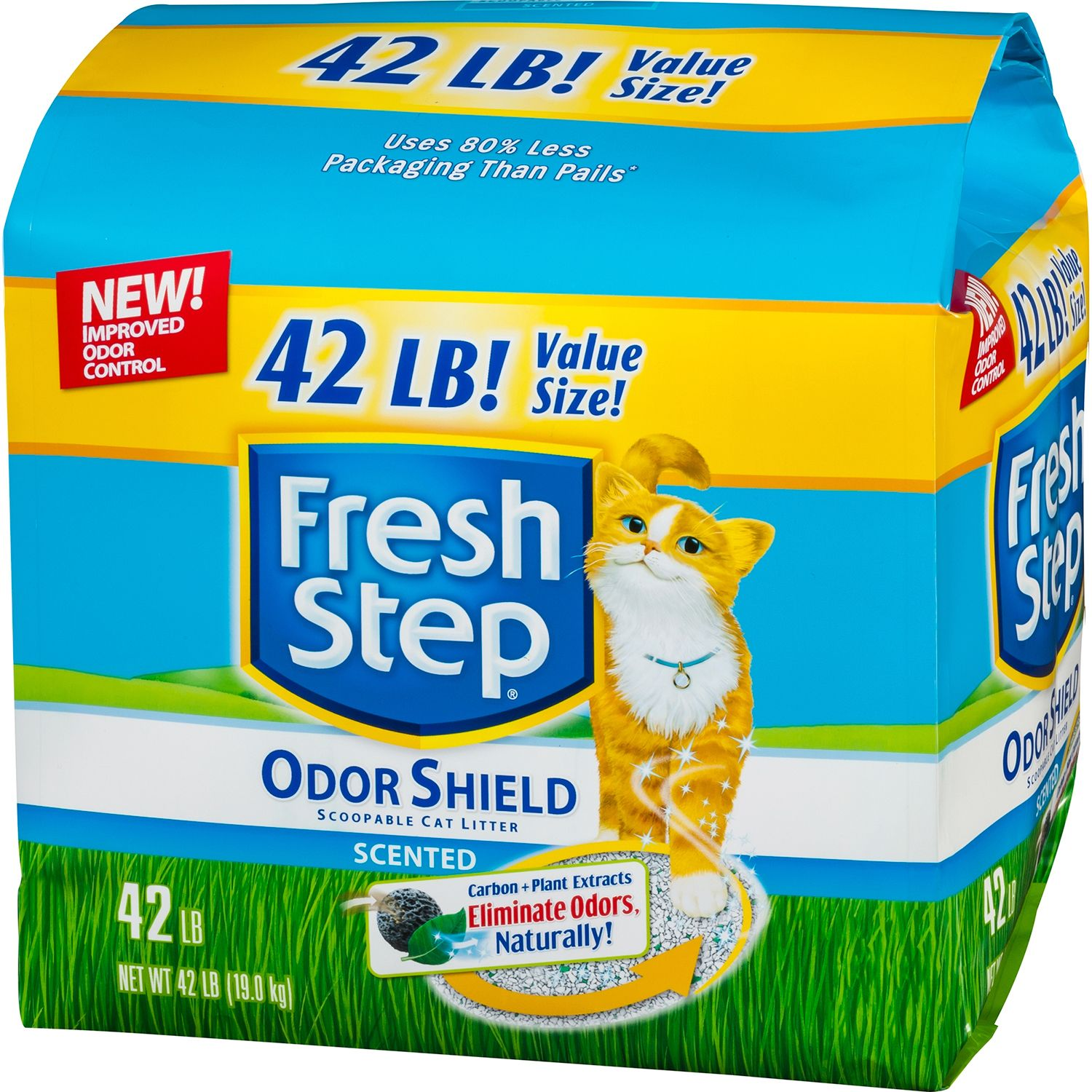 Fresh Step Scoopable Unscented Cat Litter