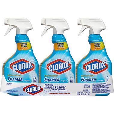Clorox Bleach Foamer - 30 oz. - 3 pk.