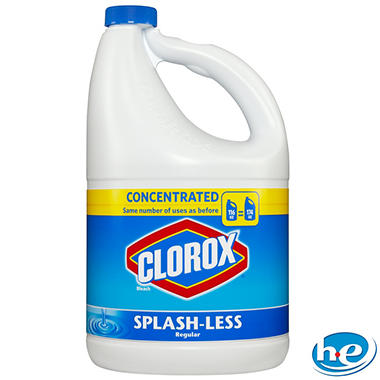 Clorox Splash-Less Liquid Bleach - Regular - 116 fl. oz. - 3 ct.