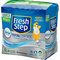 Fresh Step Total Control with Febreze Cat Litter, Scented (42 lbs.)