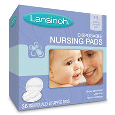 Lansinoh Ultra Soft Disposable Nursing Pads - 36 ct.
