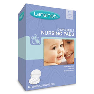 Lansinoh Disposable Nursing Pads - 60 ct.