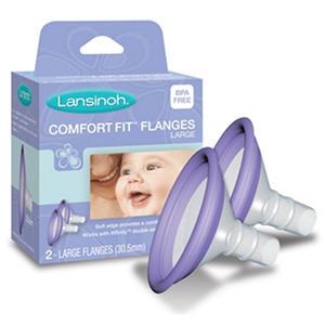 Lansinoh Affinity Comfort Fit Flange Set - 2 pk.