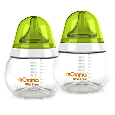 Lansinoh Feeding Bottle, 8.4 oz. - 2 pk.