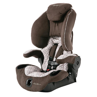 Eddie Bauer Adjustable Highback Booster Car Seat, Kingston