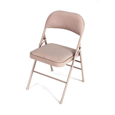 Fabric Folding Chair with Padded Seat & Back